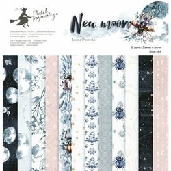 Papier scrapbookingowy New moon 30,5x30,5 cm - zestaw