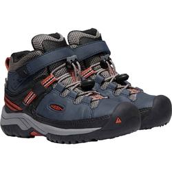 Buty trekkingowe dziecięce keen targhee mid wp - niebieski