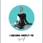 I belong deeply - plakat premium wymiar do wyboru: 30x40 cm