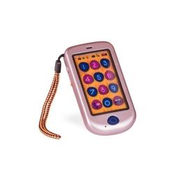 B.toys hi phone – dziecięcy telefon dotykowy smartfon - metallic różowe złoto - różowe złoto