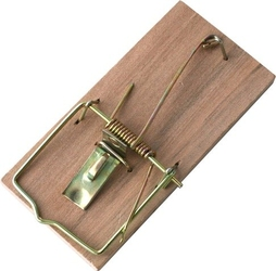Kropp, drewniana łapka na myszy, 2 sztuki