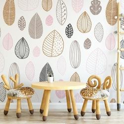 Tapeta dziecięca - lovely nature , rodzaj - tapeta flizelinowa laminowana