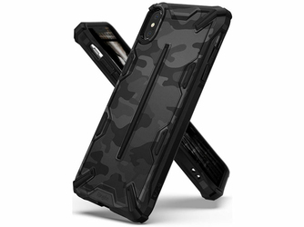 Etui Ringke Dual X Apple iPhone XXs Camo Black