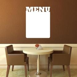 Tablica suchościeralna menu 202