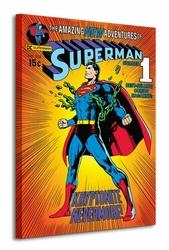 Superman Krytonite - Obraz na płótnie