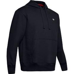 Bluza męska under armour performance originators fleece hoodie - czarny
