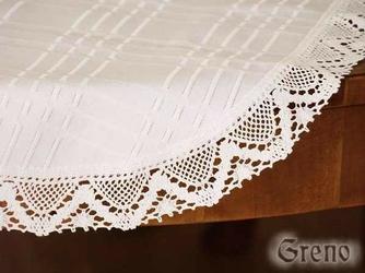 Serwetka teflonowana Greno biały okrąg - biały