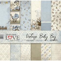 Papier 30,5x30,5 cm Vintage Baby BOY - zestaw