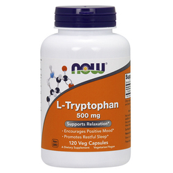 NOW L-Tryptophan 500mg 120vcaps