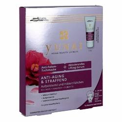 Yunai Anti-falten-maske 25g+aktiv.lifting-ser.4ml
