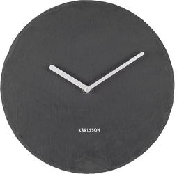 Zegar ścienny Slate 25 cm czarny