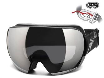 Gogle zimowe arctica g-104 pasują na okulary