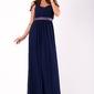 Evalola sukienka granatowy 51001-4
