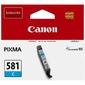 Canon Oryginalny tusz CLI581 C, 5,6ml, 2103C001, Canon PIXMA TR7550, TR8550, TS6150, TS6151, TS8150, TS81 NIEBIESKI