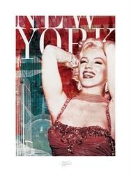 Marilyn monroe new york - bernard of hollywood - reprodukcja