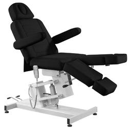Fotel kosmetyczny elektr. azzurro 706 pedi 1 siln. czarny