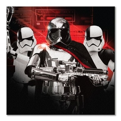 Star wars: the last jedi trooper team - obraz na płótnie
