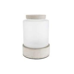 Zuiver :: wazon betonowy reina l szary