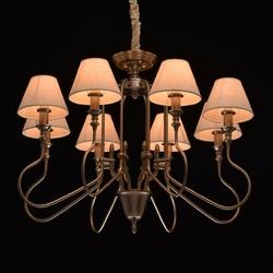 Lampa wisząca połączone style klasyczny i nowoczesny 8-ramienna mw-light 614011008