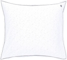 Poszewka na poduszkę selea w niebieskie kropki 40 x 40 cm