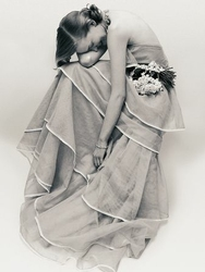Kobieta w sukni - reprodukcja