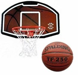 Zestaw do koszykówki Sure Shot 508 Bronx z uchwytem + Piłka Spalding TF-250