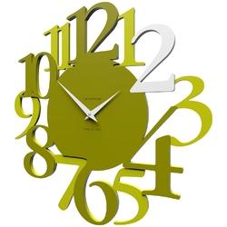 Zegar ścienny russell calleadesign oliwkowo-zielony 10-020-54