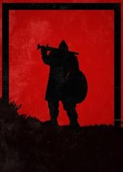 For honor - warlord - plakat wymiar do wyboru: 30x40 cm