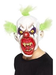 Maska zły klaun clown halloween złowrogi