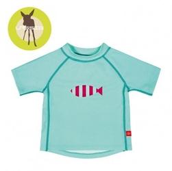 Lassig, koszulka t-shirt do pływania aqua, uv 50+