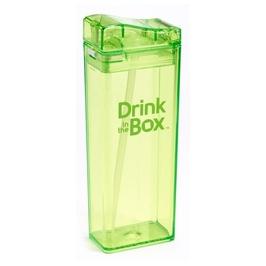 Bidon ze słomką 355 ml, zielony, in the box