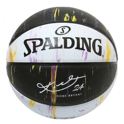 Piłka do koszykówki spalding kobe bryant 24 marble ball + pompka axer