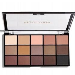 Makeup revolution re-loaded basic mattes  paletka matowych cieni do powiek