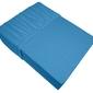 Prześcieradło jersey z gumką bielbaw błękitny 055 220 x 200