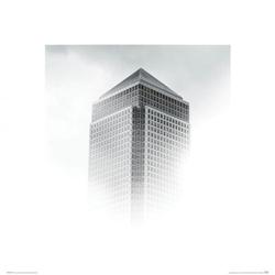Wieżowiec we mgle - reprodukcja