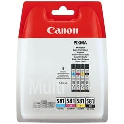 Tusze Oryginalne Canon CLI-581 CMYK 2103C004 czteropak - DARMOWA DOSTAWA w 24h