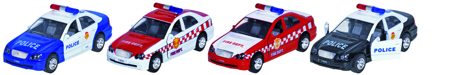 Policja, straż pożarna