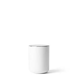 Pojemnik kosmetyczny biały Menu