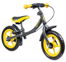 Lionelo Dan Plus Żółty Rowerek Biegowy Hamulec + Prezent 3D