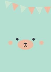Kotek urodzinowy - plakat Wymiar do wyboru: 70x100 cm