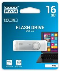 GOODRAM TWISTER 16GB USB2.0 Biały