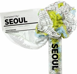 Mapa Crumpled City Seul