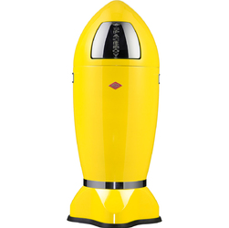 Kosz na śmieci żółty SpaceBoy 35 litrów Wesco 138631-19