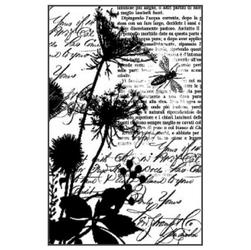 Kauczukowy stempel Stamperia 7x11 cm - kwiaty poln - 74