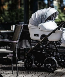 Wózek TUTIS AERO 4w1 Fotel Maxi Cosi ROCK i-Size + Baza 3WayFix