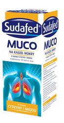 SUDAFED Muco syrop cytrynowo-miodowy 150ml