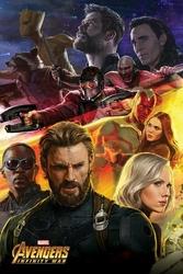 Avengers: Infinity War Captain America - plakat