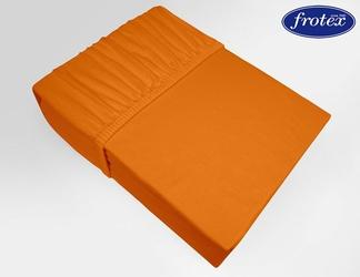 Prześcieradło jersey z gumką Frotex pomarańczowe 037 - pomarańczowy