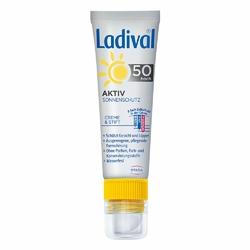 Ladival Aktiv Sonnenschutz für Gesicht und Lipp.LSF 50
