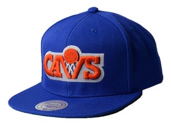 Czapka Mitchell  Ness Wool Solid NBA Cleveland Cavaliers Snapback - Cleveland Cavaliers